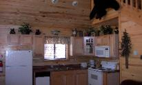 Kitchen in Heber Overgaard Real Estate Investment Cabin,