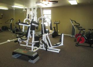 AZ Bison Suite Condo Rental Fitness Room