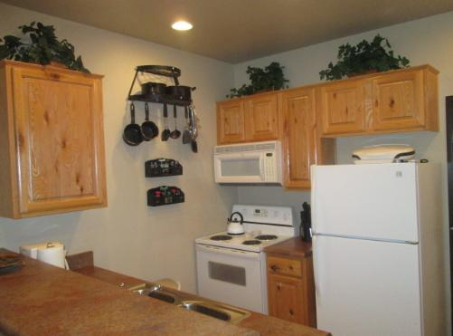 AZ Bison Suite Condo Rental Kitchen